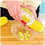 Corn Stripper, EverPlus Corn Cob Cutter Corn Peeler Cob Remover Corn Shucker Kitchen Cooking Tools with Hand Protector