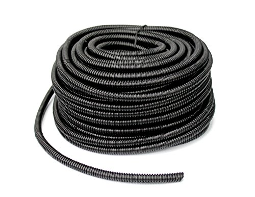 Absolute USA SLT14 1/4-Inch x 100-Feet Split Loom Tube