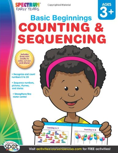 Counting & Sequencing, Grades Preschool - K (Basic Beginnings)