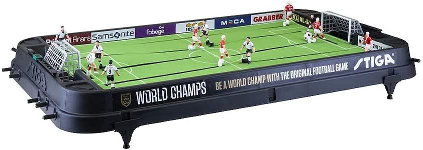 Stiga Football Game World Champs England/Germany Black Juego de fútbol de Mesa, Unisex-Youth, One Size: Amazon.es: Deportes y aire libre
