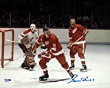 Gordie Howe Autographed 8x10 Photo Detroit Red Wings PSA/DNA