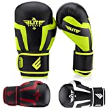 Elite Sports Boxing, Kickboxing, Adult & Kids Muay Thai Sparring Training Gloves