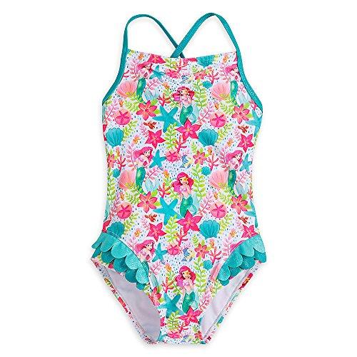 Disney Ariel Swimsuit For Girls Size 4 458035938612 (Swimsuit Disney One Piece)