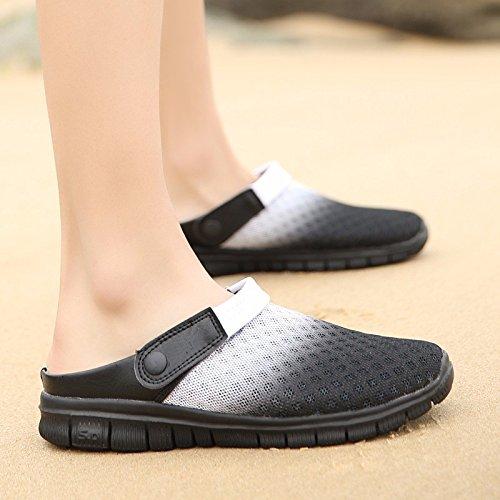 estate Nuovo prodotto Uomini Spiaggia Buco scarpa Coppia sandali Taglia larga Tempo libero sandali Coppia tendenza sandali Uomini ,bianca,US=7,UK=6.5,EU=40,CN=40