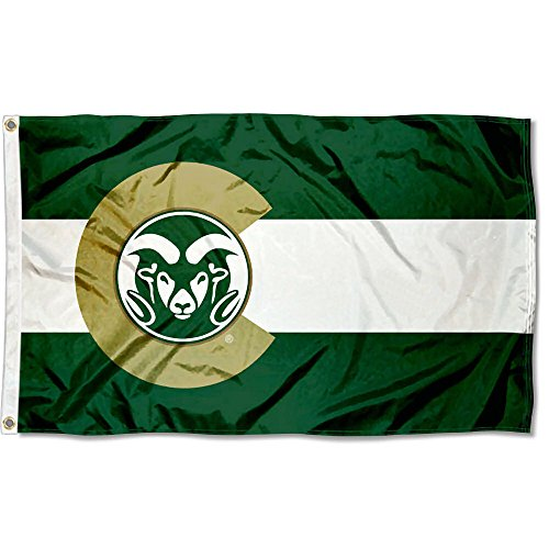 Colorado State Rams State of Colorado Flag