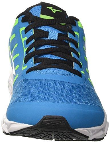 Mizuno Hombre Azul Zapatillas Verde Ezrun de para Running 8Y7rx8qwX