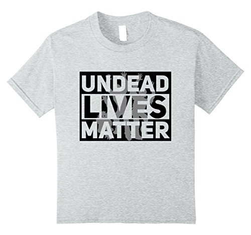 Kids Funny Halloween Costume Ideas 2017 Undead Shirt 10 Heather Grey (2017 Halloween Costumes Ideas For Kids)