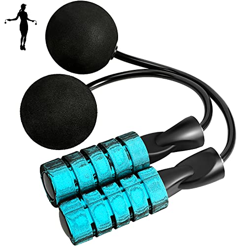 Weighted Cordless Jump Rope,Training Ropeless Skipping Rope for Fitness, Ropeless Jumping Rope for Men Women, Exercise, WOD, Boxing, MMA Beachbody Fitness Indoor Workout
