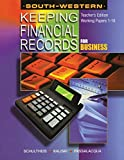 img - for Keeping Financial Records for Business: Working Papers TEACHER'S EDITION 1-16 book / textbook / text book