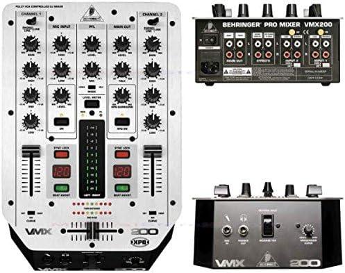 vmx200 Behringer mesa de mezclas DJ: Amazon.es: Instrumentos musicales