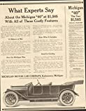 1913 Michigan Model 40 Kalamazoo MI Automobile Magazine Ad