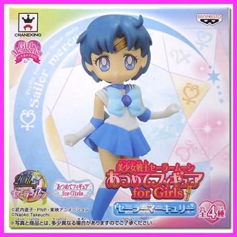 SUPER RARE Sailor Moon 20th Atsumete Figure Doll for Girls MERCURY Kawaii JAPAN (Atsumete Sailor Moon)
