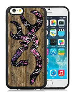 Personalized Custom Picture iPhone 6,Browning logo 1 Black iPhone 6 4.7 Inch TPU Custom Picture Phone Case