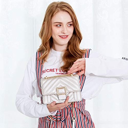 à Messenger à Sac Lxf20 carré PU main bandoulière Sac pour main en petit Sac sac Pink orgue femme Sac à naWdRwW1xU
