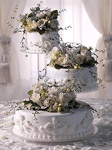 3 Tier Acrylic Wedding Cake Stand Style R300 Buy
