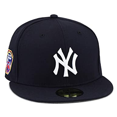 huge selection of 0a0e1 e47c9 New Era 59FIFTY New York Yankees Fitted Hat Cap Navy FDNY Side Patch (7