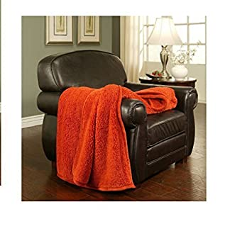 Cuddly Cabin Throw   60u0026quot; X 70u0026quot;   Color: TerraCotta By ...