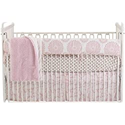 Cotton Tale Designs Girl's Crib Bedding Set, Sweet and Simple Pink