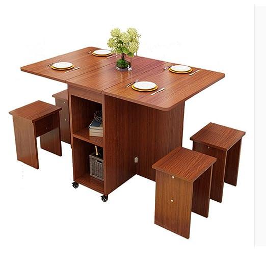 Mesa Extensible de Comedor Mesa Plegable de Comidas del hogar ...