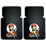 - Betty Boop Motorcycle Design 2 Pc Car Truck SUV Floor Mats