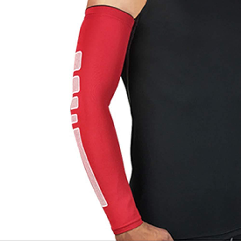 1pcs brazo manga deportes Oversleeve baloncesto bicicleta correr ...