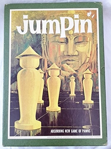 Vintage 3M Bookshelf Game Jumpin - The Game of Pawns 1964