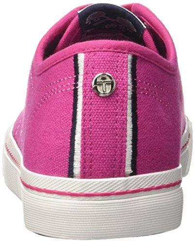 Tulip Sneaker Canvas Niedrige Tacchini Damen Rosa Capri Sergio tXUAq0xwU