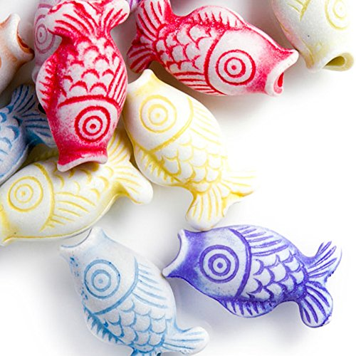 30g Acrylic Animal Beads Color Assorted Center Drilled Style Antique Size 17.5x9x7mm Hole Size 3mm