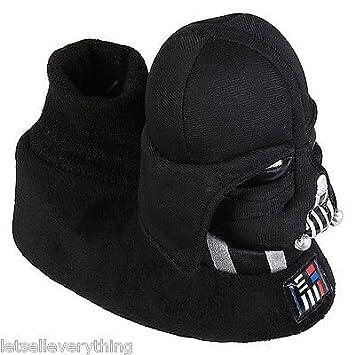 ca177f522d Amazon.com   NEW STAR WARS DARTH VADER Sock Top Plush SLIPPERS Boy Toddler  Children size 9-10   Baby