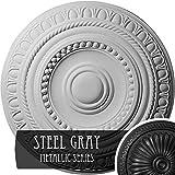Ekena Millwork CM15ARSGS Artis Ceiling Medallion, Steel Gray