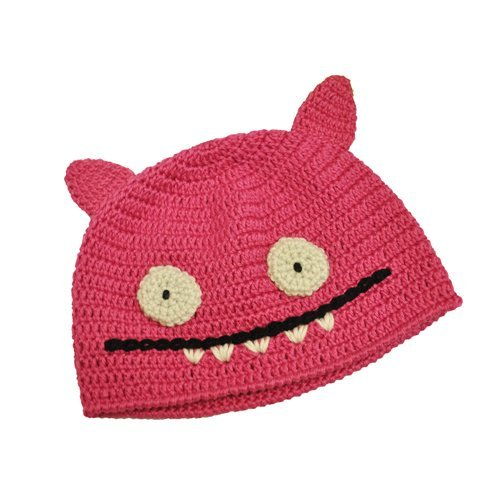 Ugly Doll Hat Ice Bat Pink