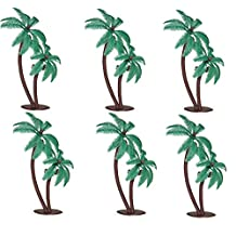 Oasis Supply Twin Coconut Palm Trees Cake Decorating Pick, 4-Inch