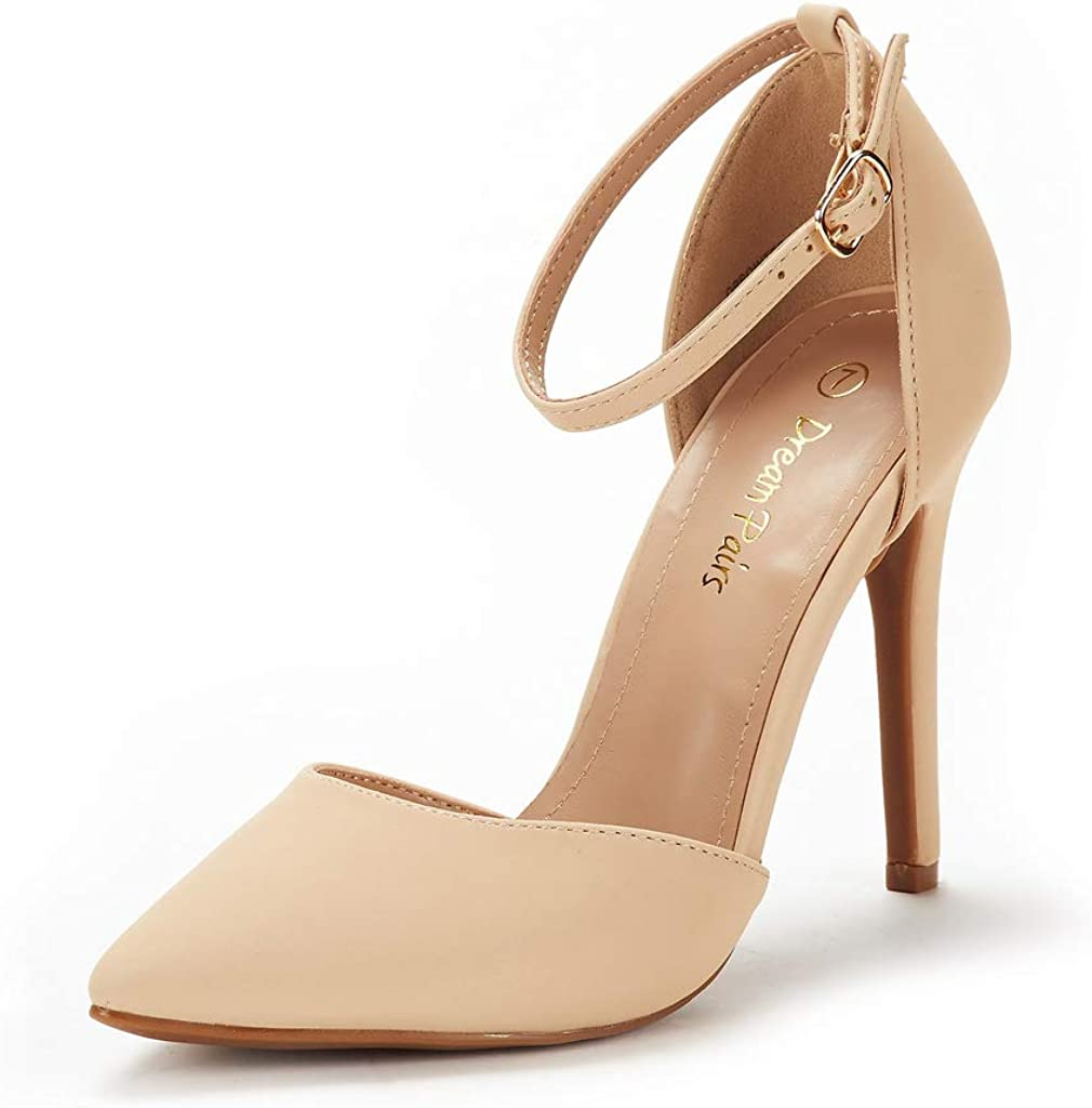 DREAM PAIRS Women's Oppointed-Lacey Pump Shoe