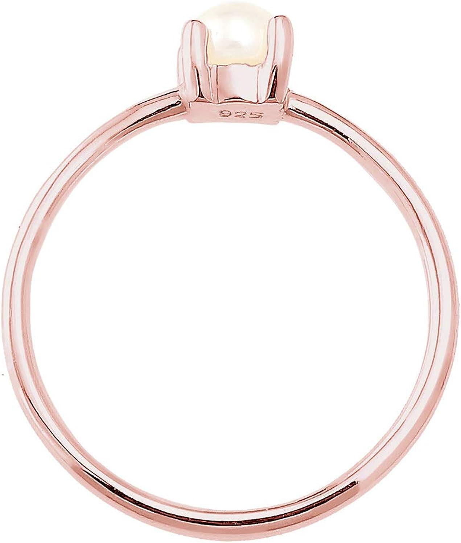Elli Ring S/üsswasserperle Filigran 925 Sterling Silber