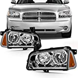 Best OEM headlamp - Fits 2006-2010 Dodge Charger [Halogen Style] Chrome Headlamp Review