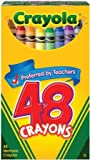 Crayola Crayons 48 pieces in A Jumbo Box (Pack of 6) 288 Crayons Total