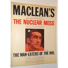 Maclean's - Canada's National Magazine, March 9 1963 - Lou Fontinato Cover Photo