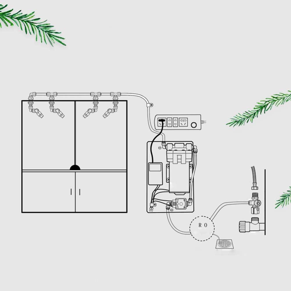 Indoor Plants Watering Can Sprinkler Garden Greenhouse Hand Press Adjustable
