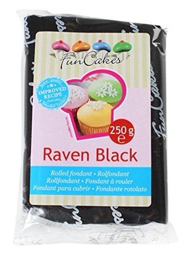 12 opinioni per FunCakes Pasta di Zucchero Nero, 250 grammi