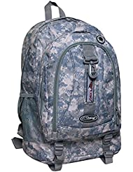Mens Womens Large 19.5 Organizer Outdoor Hiking School Bookbag Backpack