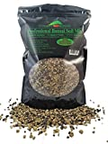 "Bonsai Soil Mix - Premium Professional, All Purpose, Sifted and Ready To Use Tree Potting Blend In Easy Zip Bag - Akadama, Black Lava, Pumice, Haydite & Charcoal - ""Boons Mix"" (1.25 Dry Quart)"