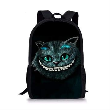 QAZZ L5389C - Mochila Escolar para niños, diseño de Gato de ...