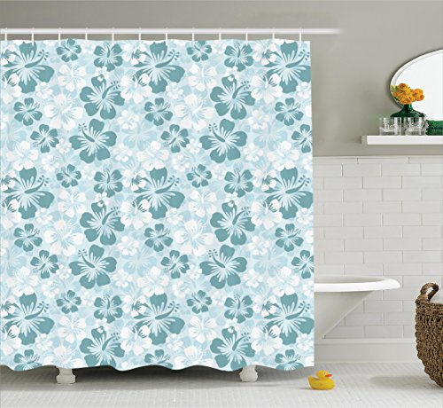 Ambesonne Decorations Collection Rainforest Monochromatic
