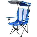 Folding Chair with Canopy Kelsyus Original Canopy Chair, Royal Blue