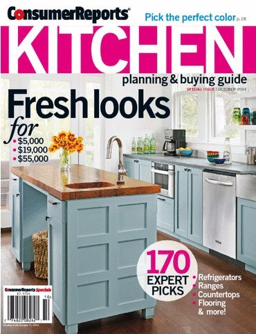 Consumer Reports Kitchen Special Issue October 2014