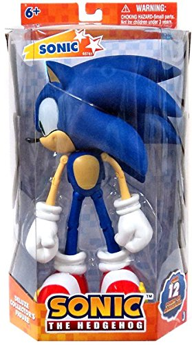 Sonic The Hedgehog 10 Inch Deluxe Action Figure Sonic Over 12 Points of Artic