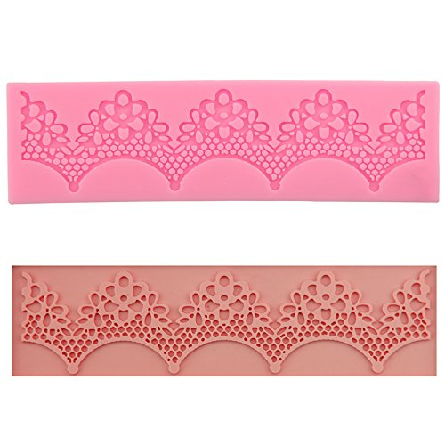 Amazon.com: Mr.S Shop 1PCS Silicone Cake Lace Mold Cake Silicone Mat Moule Moldes de Silicone Para Fondant Cake Baking Decorating Tool: Kitchen & Dining