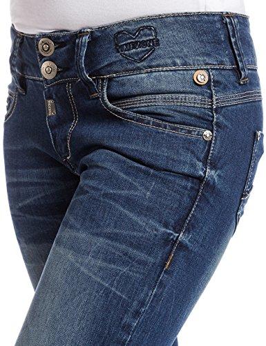 3819 Blau Middle Gretatz Wash Wash Bleu Jeans Timezone Blue Blue Middle Femme 3819 Slim OwCqqxARz