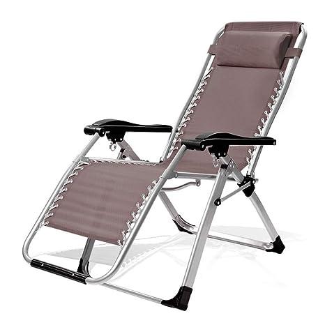 Taburete de silla plegable al aire libre Silla reclinable ...