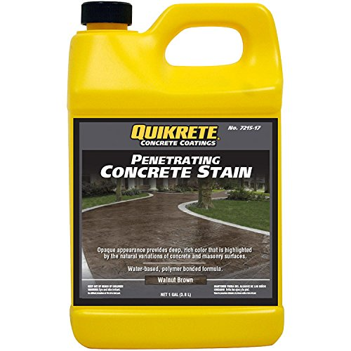 Quikrete Penetrating Concrete Walnut Brown gal - 2pack